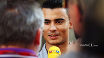 Pascal Wehrlein, Manor Racing with the media