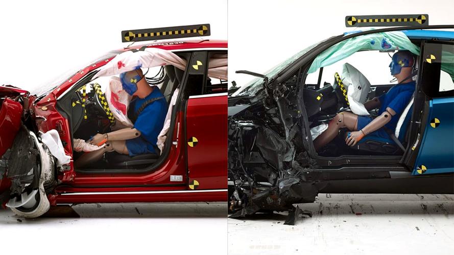 Tesla Model S, BMW i3 don't make the grade for IIHS TSP+ award [UPDATE]