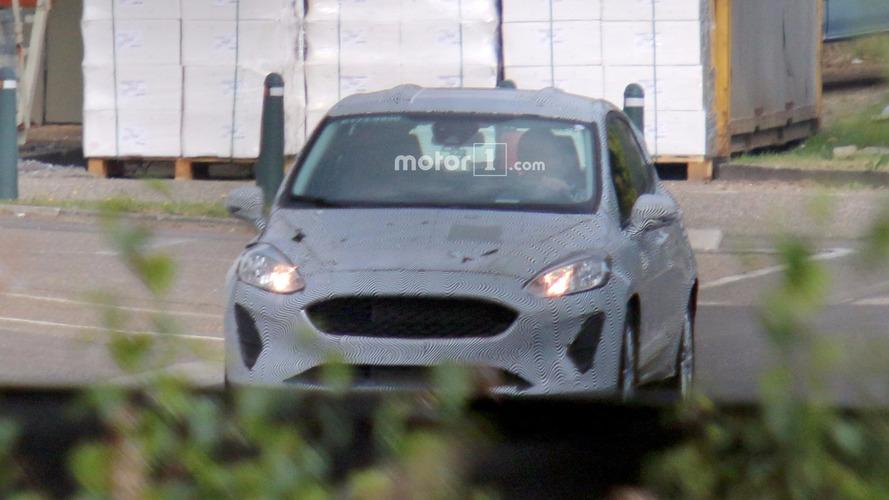 2017 Ford Fiesta spy photos
