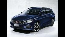 Fiat Tipo hatchback e perua são revelados em fotos oficiais