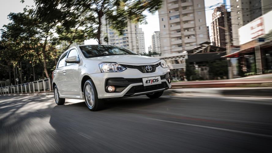 Toyota Etios já está em 2018 com