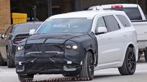Possible Dodge Durango Hellcat spy photo