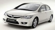 Honda Civic Hybrid Restyling and i-DTEC Automatic Gearbox World Debuts in Paris