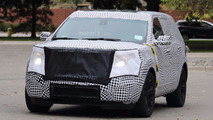 2019 Ford Explorer spy photos