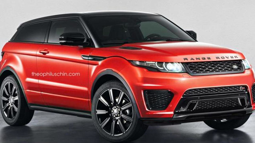 Range Rover Evoque digitally imagined in SVR guise