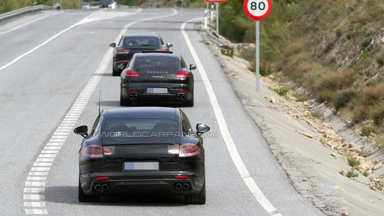 2016 Porsche Panamera S E-Hybrid spy photo
