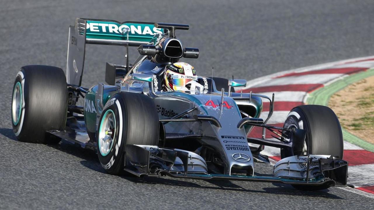 Lewis Hamilton (GBR), Mercedes AMG F1 W06, 19.02.2015, Formula One Testing, Day One, Barcelona, Spain / XPB