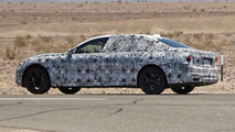 2015 BMW 7-Series long-wheelbase spy photo
