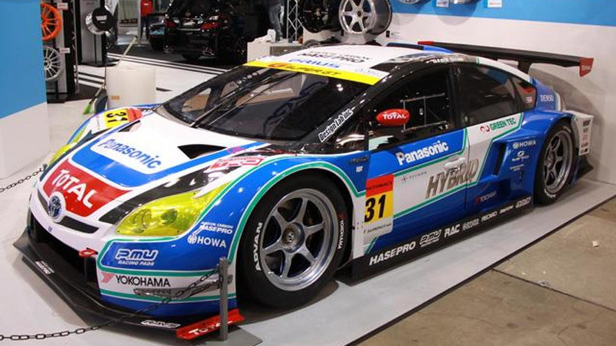 Toyota Prius GT300 race car gets real