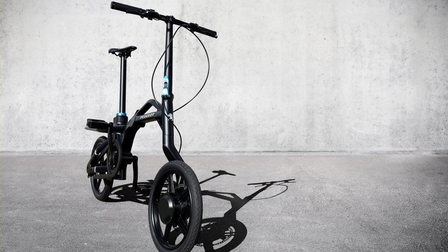 Peugeot, katlanır elektrikli bisikletini tanıttı