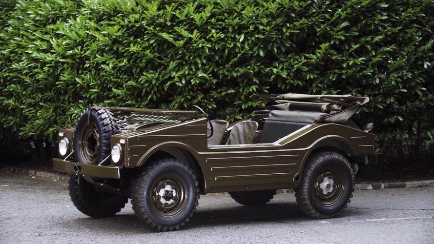 Nadir bulunan 1957 Porsche 4x4 askeri araç, açık arttırmada 263,000 USD fiyata satılabilir