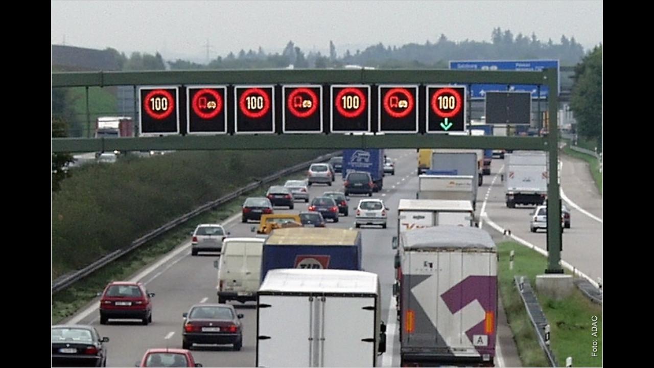 Geschwindigkeitsüberschreitung außerhalb von Ortschaften