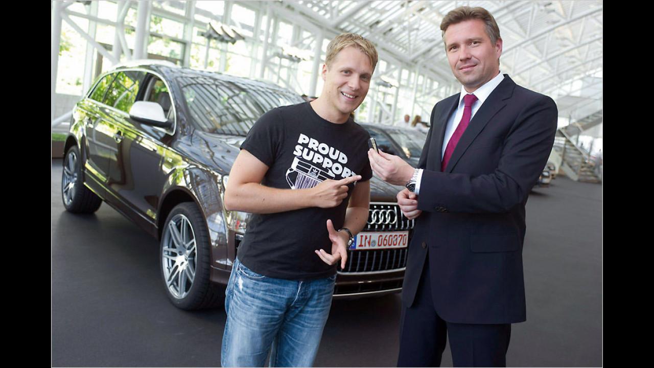 Oliver Pocher: Audi Q7