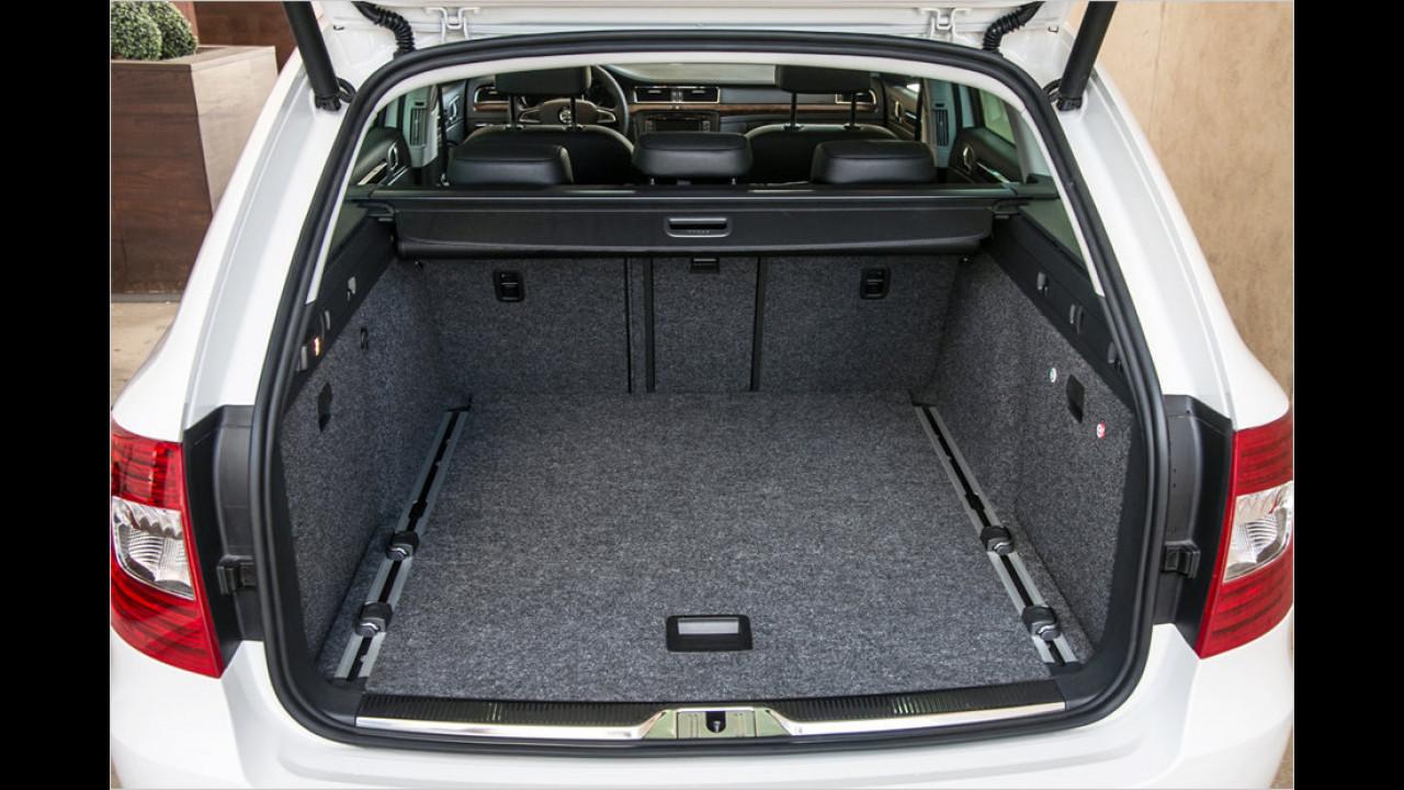 Skoda Superb Combi Facelift