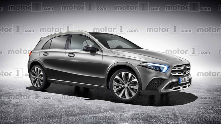 2019 Mercedes GLA Rendered Based On Spy Shots