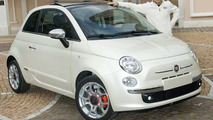 Felipe Massa with unique 120 hp Fiat 500
