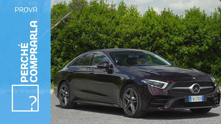 Mercedes CLS, perché comprarla... e perché no