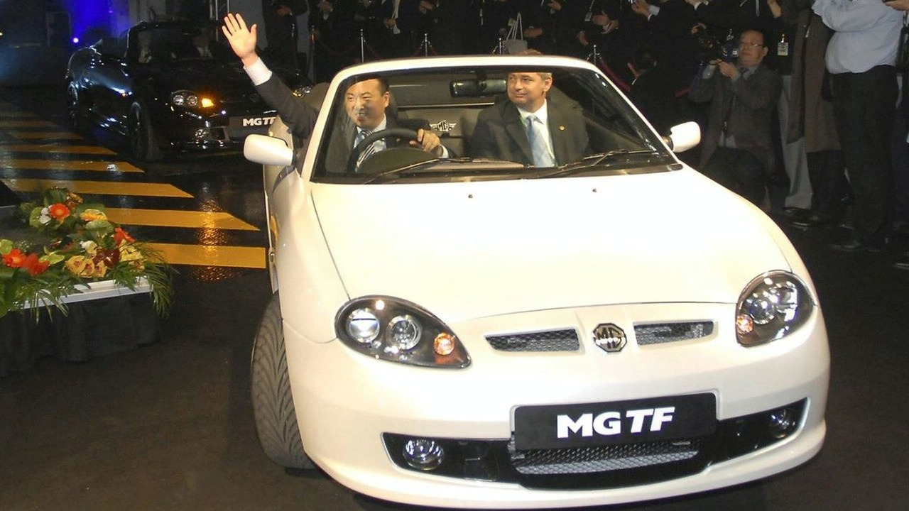 June 2007: new MG TF at Longbridge, UK plant
