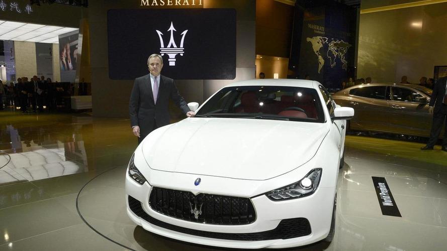 2014 Maserati Ghibli storms into Auto Shanghai