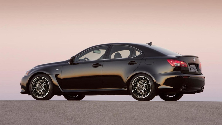 Lexus confirms IS F has been discontinued