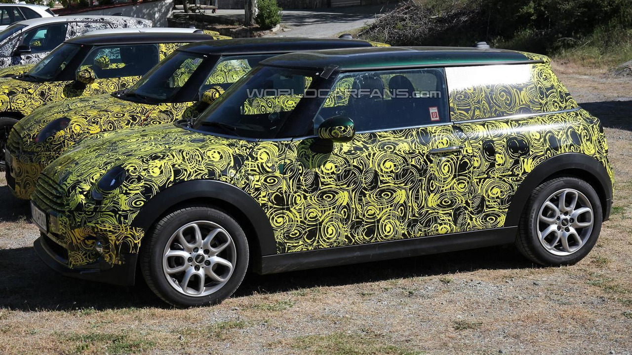 2014 MINI Cooper spy photo 24.06.2013