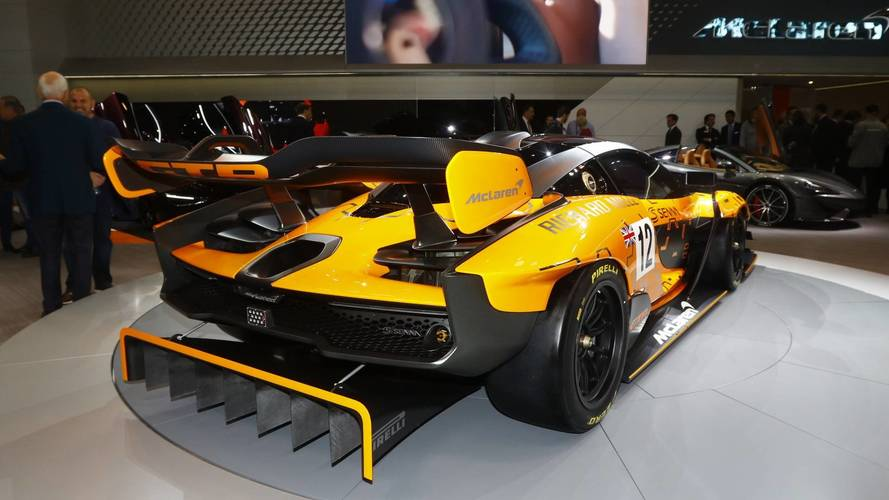 McLaren Senna GTR will produce 1,000kg of downforce