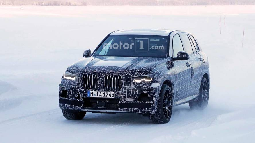 Photos espion - Le futur BMW X5 M débusqué