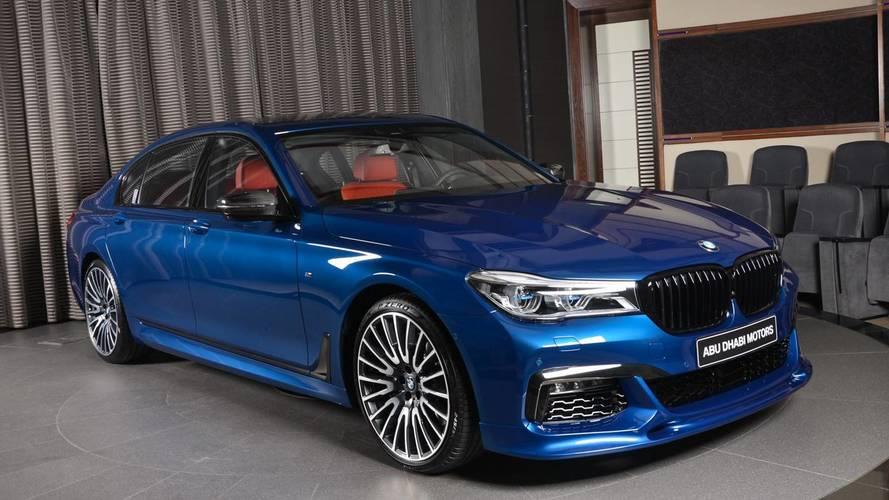 Une fastueuse BMW M750Li chez BMW Abu Dhabi Motors