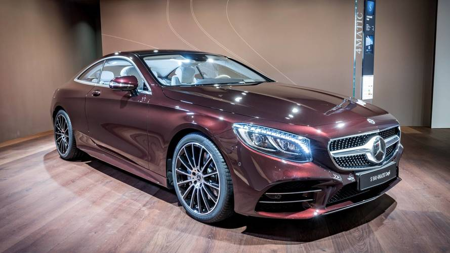 Two-Door Mercedes S-Class Gets Lavishly Equipped Exclusive Edition