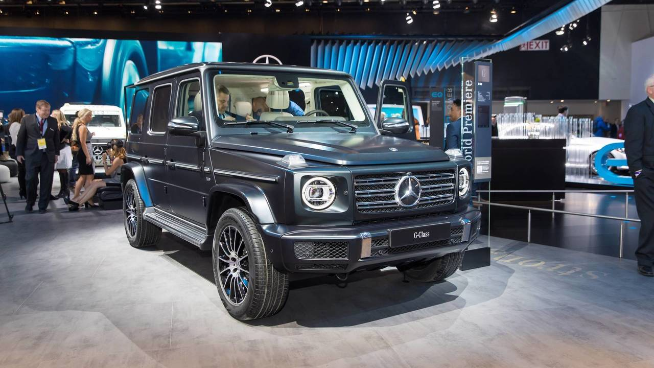 Mercedes G Class Is The Jewel Of The Lineup
