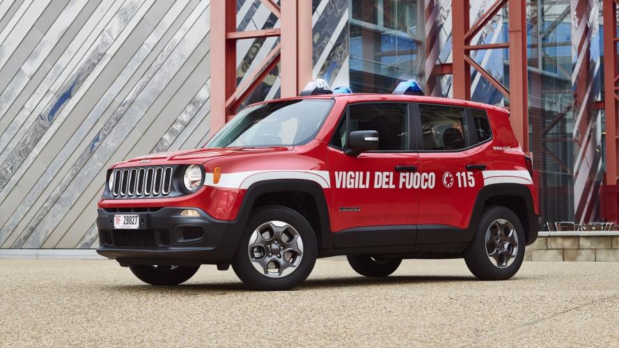 Jeep Renegade, lo guideranno anche i Vigili del Fuoco