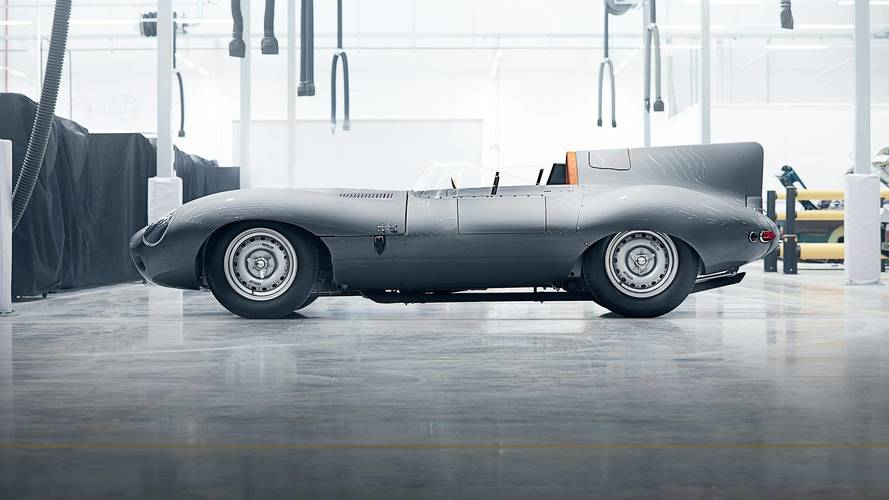 Jaguar resurrects the iconic D-type
