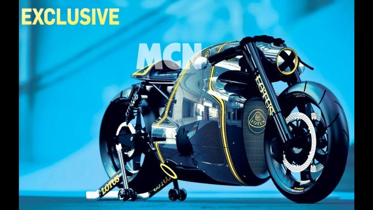C-01: inédita moto da Lotus tem primeiras imagens reveladas