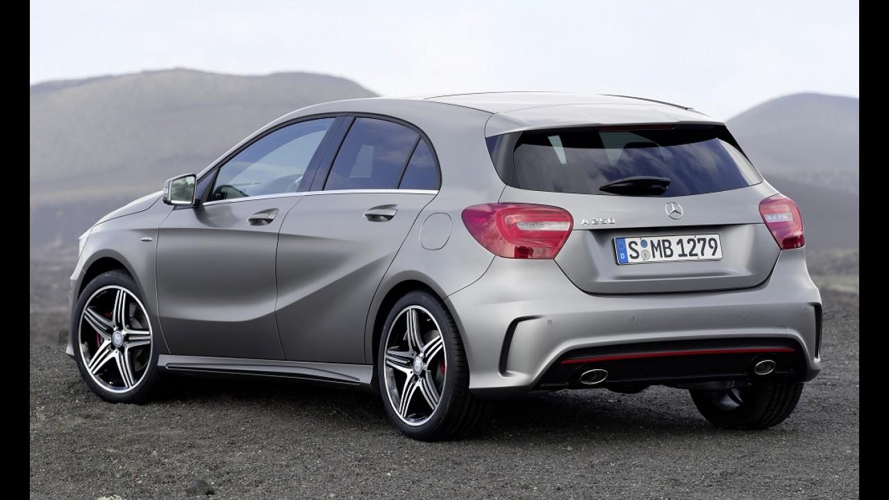 Mercedes Classe A ganhará primeira reestilização no ano que vem
