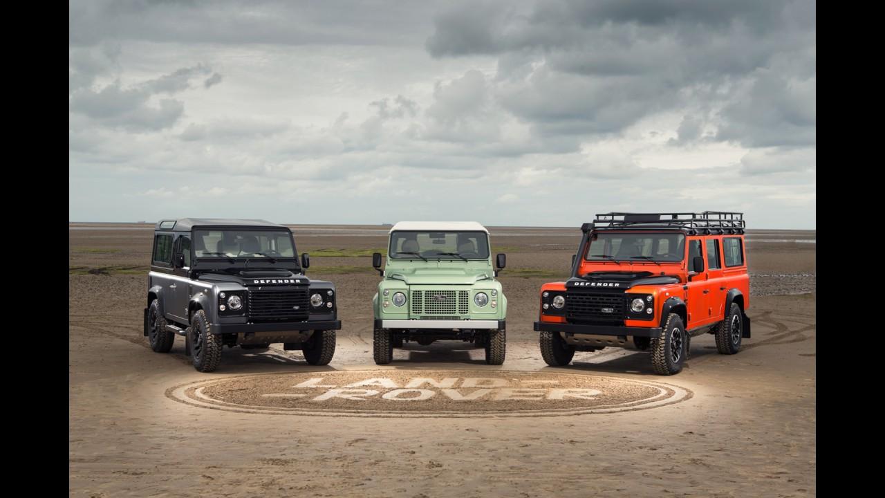 Land Rover cria réplica da linha de produção do Defender feito em 1948