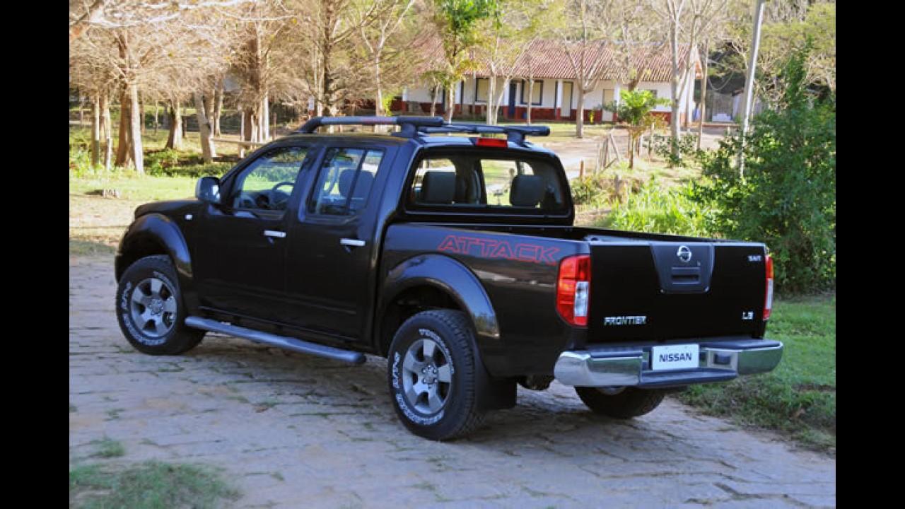 Recall: Nissan convoca Frontier para inspeção de parafusos na direção e capô