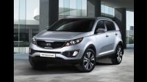 Segunda geração do Kia Sportage ganha facelift na China