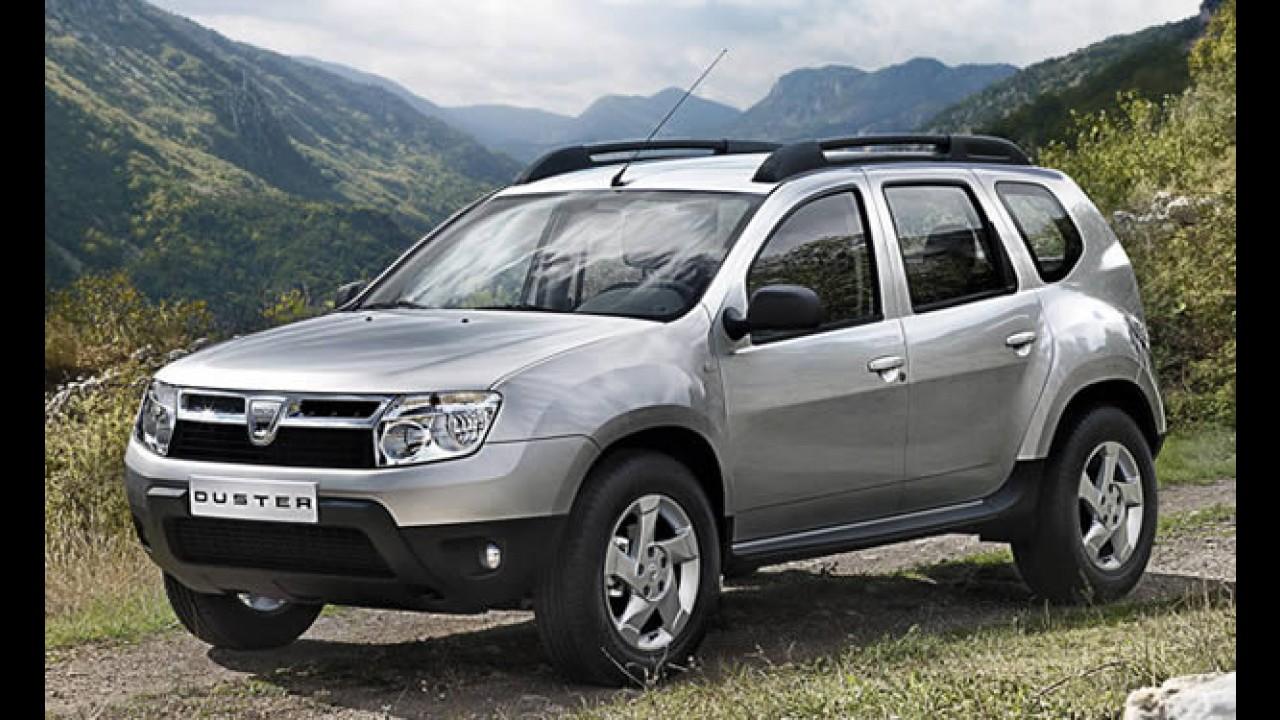 Renault anuncia novo utilitário Duster no Brasil em 2011 - Dacia divulga imagens oficiais