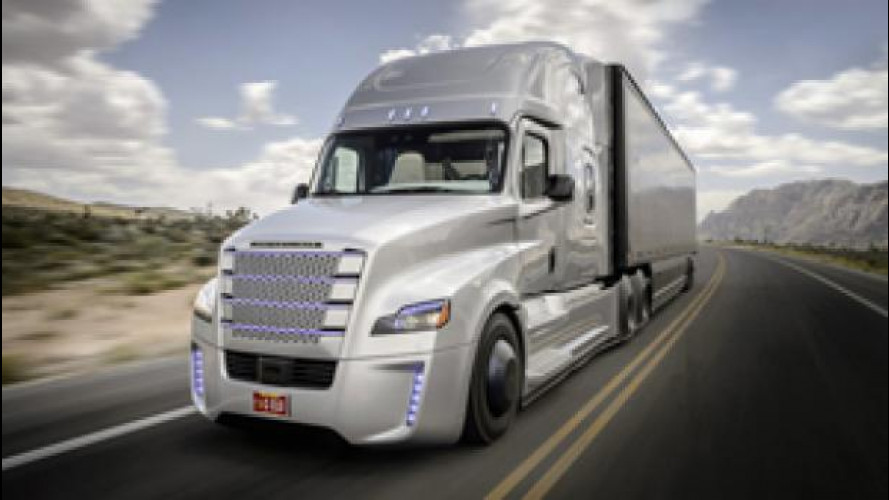 Freightliner Inspiration, il camion da guinness