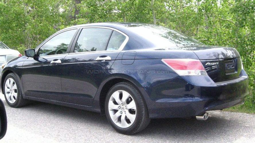 U.S. Spec Honda Accord Spied on Photo Shoot