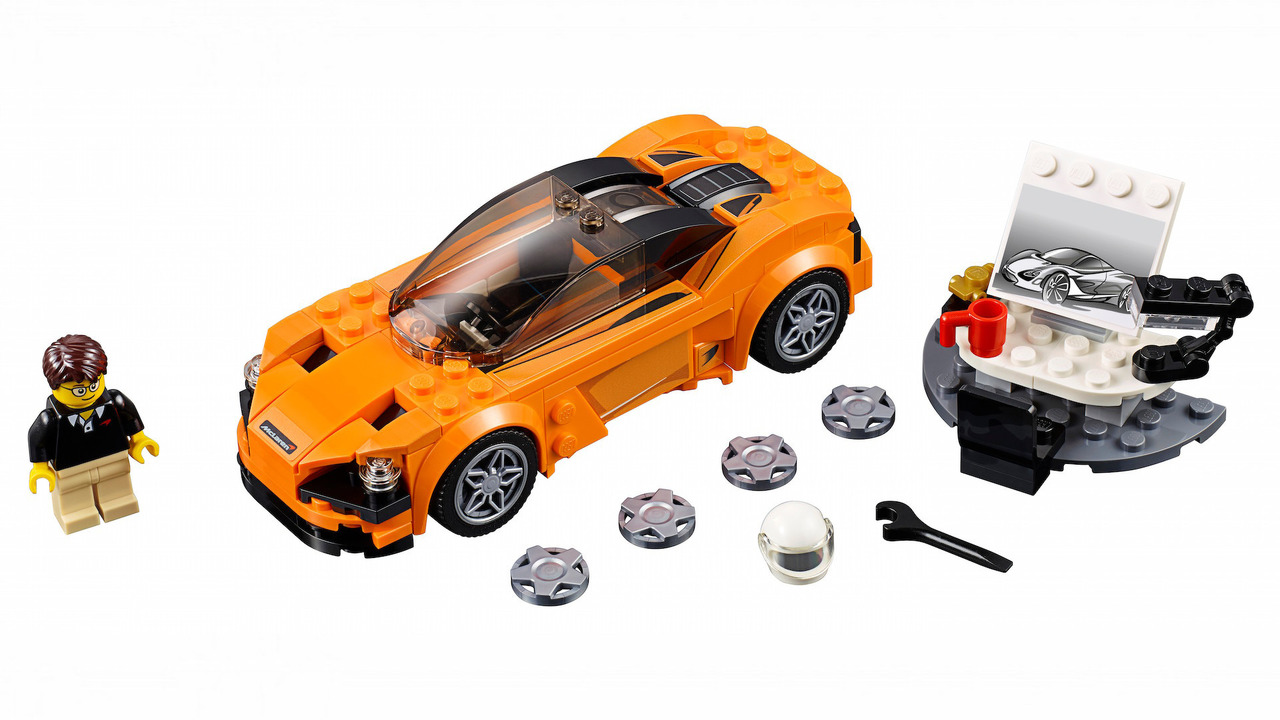 lego mclaren 720s kit was built for kids but we want one. Black Bedroom Furniture Sets. Home Design Ideas