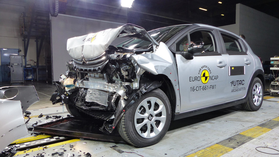 Crash-test - Voici les résultats de la nouvelle Citroën C3