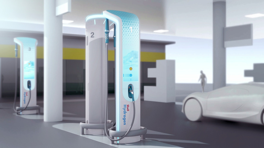 BMW Designed The Hydrogen Refueling Station Of The Future