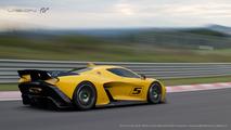 Fittipaldi EF7 Vision Gran Turismo 2017