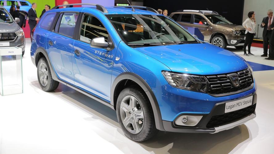 Cenevre'de Dacia'nın yıldızı Logan MCV Stepway