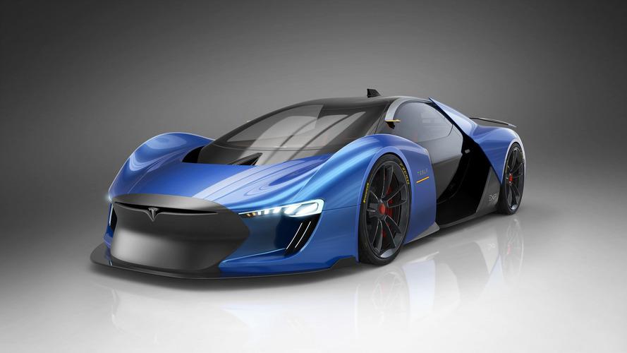 İspanyol sanatçıdan Tesla süper otomobili: Model EXP