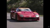 Ferrari F40, F50, Diablo Video