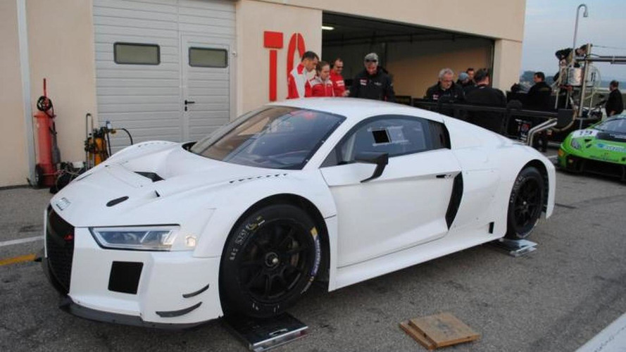 2016 Audi R8 LMS photographed in the metal for the first time