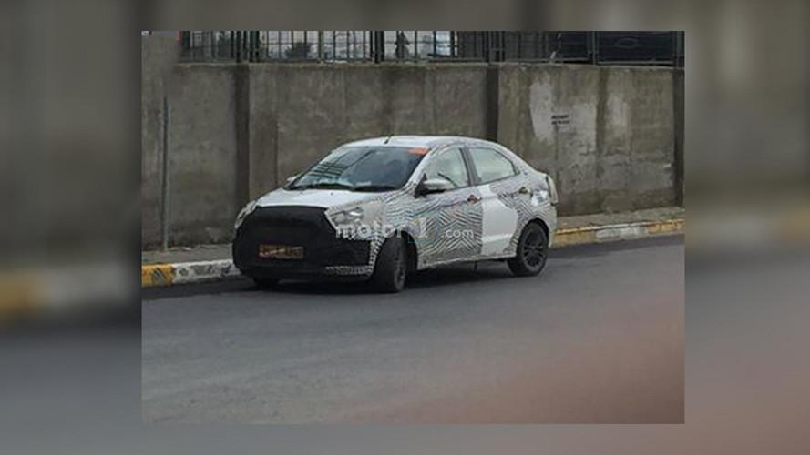 Ford Figo Aspire Türkiye'de yakalandı!