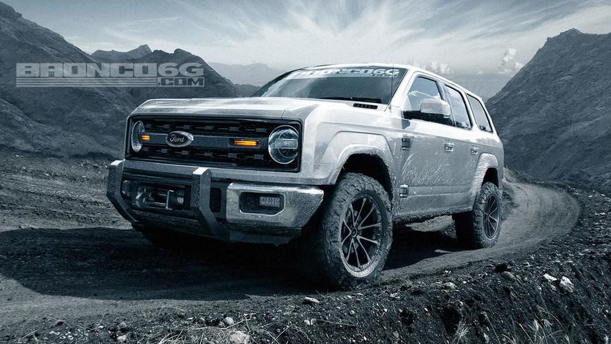 Projeções do Ford Bronco mostram como deve ser o